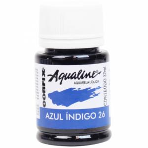 Aquarela Aqualine 37ml Azul Indigo 26 Corfix