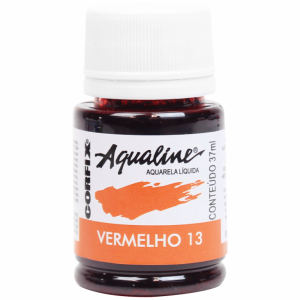 Aquarela Aqualine 37ml Vermelho 13 Corfix