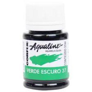 Aquarela Aqualine 37ml verde escuro 37 Corfix