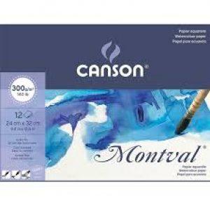 BLOCO MONTVAL A4 CANSON