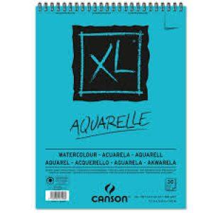 Bloco Aquarelle XL espiral