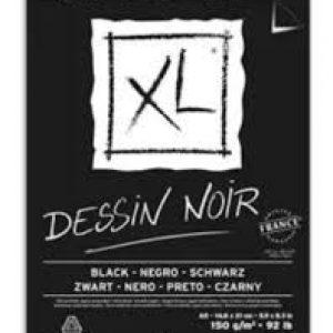 Bloco dessin noir XL 150g