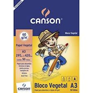 Bloco vegetal 60g Canson