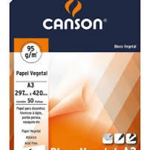 Bloco vegetal 95g Canson