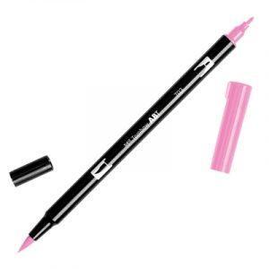 Caneta Tombow Dual Brush Pen - 703 Pink Rose