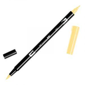 Caneta Tombow Dual Brush Pen-light-ochre-991