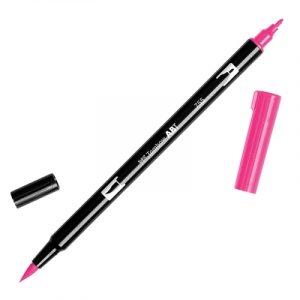 Caneta Tombow Dual Brush Pen-rubine-red-755