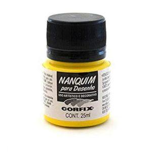 Nanquim 25ml Amarelo Ouro 308 - Corfix
