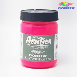 TINTA ACRILICA FLUORESCENTE 250 ml 1015