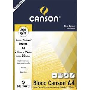 bloco 200 g A4 canson