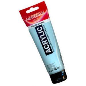 tinta-acrilica-120ml-azul-celeste-claro-551-amsterdam