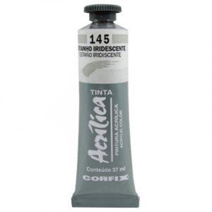tinta-acrilica-37ml-estanho-iridescente-145-corfix