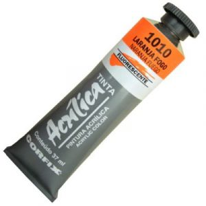 tinta-acrilica-37ml-fluorescente-laranja-fogo-1010-corfix