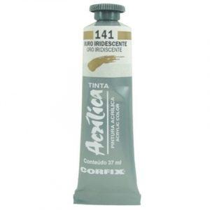 tinta-acrilica-37ml-ouro-iridescente-141-corfix